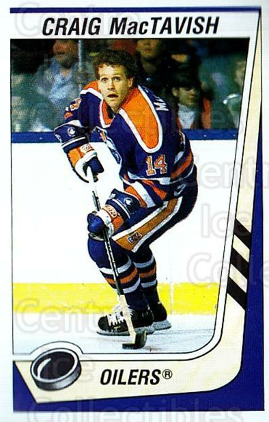 1989-90 Panini Stickers #78 Craig MacTavish<br/>3 In Stock - $1.00 each - <a href=https://centericecollectibles.foxycart.com/cart?name=1989-90%20Panini%20Stickers%20%2378%20Craig%20MacTavish...&quantity_max=3&price=$1.00&code=140128 class=foxycart> Buy it now! </a>