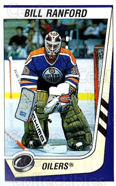 1989-90 Panini Stickers #81 Bill Ranford<br/>1 In Stock - $1.00 each - <a href=https://centericecollectibles.foxycart.com/cart?name=1989-90%20Panini%20Stickers%20%2381%20Bill%20Ranford...&quantity_max=1&price=$1.00&code=140132 class=foxycart> Buy it now! </a>