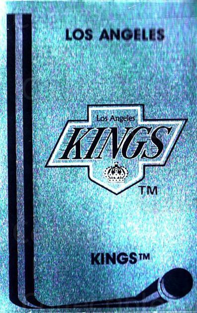 1989-90 Panini Stickers #86 Los Angeles Kings<br/>3 In Stock - $1.00 each - <a href=https://centericecollectibles.foxycart.com/cart?name=1989-90%20Panini%20Stickers%20%2386%20Los%20Angeles%20Kin...&quantity_max=3&price=$1.00&code=140137 class=foxycart> Buy it now! </a>