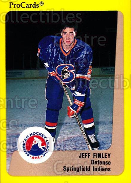 1989-90 ProCards AHL #252 Jeff Finley<br/>6 In Stock - $2.00 each - <a href=https://centericecollectibles.foxycart.com/cart?name=1989-90%20ProCards%20AHL%20%23252%20Jeff%20Finley...&quantity_max=6&price=$2.00&code=140168 class=foxycart> Buy it now! </a>