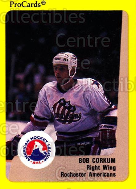1989-90 ProCards AHL #278 Bob Corkum<br/>9 In Stock - $2.00 each - <a href=https://centericecollectibles.foxycart.com/cart?name=1989-90%20ProCards%20AHL%20%23278%20Bob%20Corkum...&quantity_max=9&price=$2.00&code=140195 class=foxycart> Buy it now! </a>