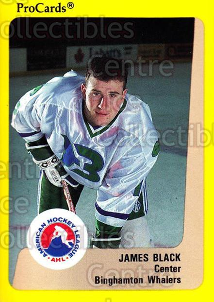 1989-90 ProCards AHL #292 James Black<br/>12 In Stock - $2.00 each - <a href=https://centericecollectibles.foxycart.com/cart?name=1989-90%20ProCards%20AHL%20%23292%20James%20Black...&price=$2.00&code=140211 class=foxycart> Buy it now! </a>
