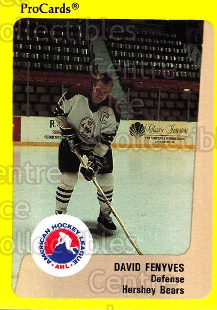 1989-90 ProCards AHL #335 Dave Fenyves<br/>10 In Stock - $2.00 each - <a href=https://centericecollectibles.foxycart.com/cart?name=1989-90%20ProCards%20AHL%20%23335%20Dave%20Fenyves...&quantity_max=10&price=$2.00&code=140258 class=foxycart> Buy it now! </a>