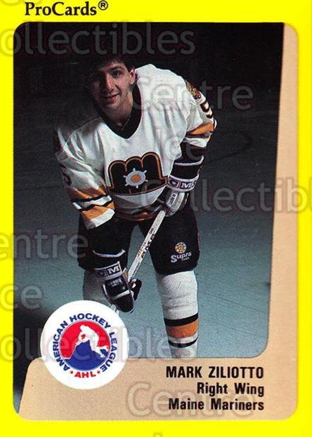 1989-90 ProCards AHL #64 Mark Ziliotto<br/>1 In Stock - $2.00 each - <a href=https://centericecollectibles.foxycart.com/cart?name=1989-90%20ProCards%20AHL%20%2364%20Mark%20Ziliotto...&price=$2.00&code=140314 class=foxycart> Buy it now! </a>