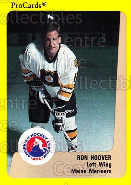 1989-90 ProCards AHL #65 Ron Hoover<br/>12 In Stock - $2.00 each - <a href=https://centericecollectibles.foxycart.com/cart?name=1989-90%20ProCards%20AHL%20%2365%20Ron%20Hoover...&price=$2.00&code=140315 class=foxycart> Buy it now! </a>