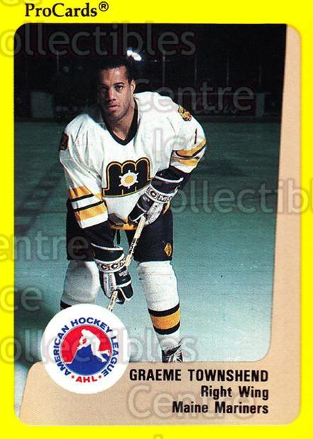 1989-90 ProCards AHL #70 Graeme Townshend<br/>5 In Stock - $2.00 each - <a href=https://centericecollectibles.foxycart.com/cart?name=1989-90%20ProCards%20AHL%20%2370%20Graeme%20Townshen...&price=$2.00&code=140321 class=foxycart> Buy it now! </a>