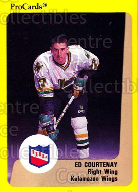 1989-90 ProCards IHL #80 Ed Courtenay<br/>2 In Stock - $2.00 each - <a href=https://centericecollectibles.foxycart.com/cart?name=1989-90%20ProCards%20IHL%20%2380%20Ed%20Courtenay...&quantity_max=2&price=$2.00&code=140382 class=foxycart> Buy it now! </a>