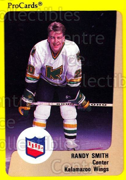 1989-90 ProCards IHL #87 Randy Smith<br/>7 In Stock - $2.00 each - <a href=https://centericecollectibles.foxycart.com/cart?name=1989-90%20ProCards%20IHL%20%2387%20Randy%20Smith...&quantity_max=7&price=$2.00&code=140388 class=foxycart> Buy it now! </a>