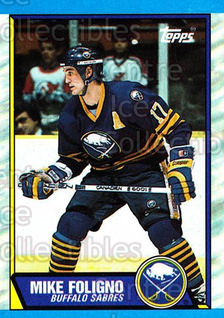 1989-90 Topps #78 Mike Foligno<br/>6 In Stock - $1.00 each - <a href=https://centericecollectibles.foxycart.com/cart?name=1989-90%20Topps%20%2378%20Mike%20Foligno...&quantity_max=6&price=$1.00&code=140411 class=foxycart> Buy it now! </a>