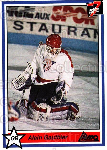 1990-91 7th Inning Sketch QMJHL #251 Alain Gauthier<br/>9 In Stock - $1.00 each - <a href=https://centericecollectibles.foxycart.com/cart?name=1990-91%207th%20Inning%20Sketch%20QMJHL%20%23251%20Alain%20Gauthier...&quantity_max=9&price=$1.00&code=140701 class=foxycart> Buy it now! </a>