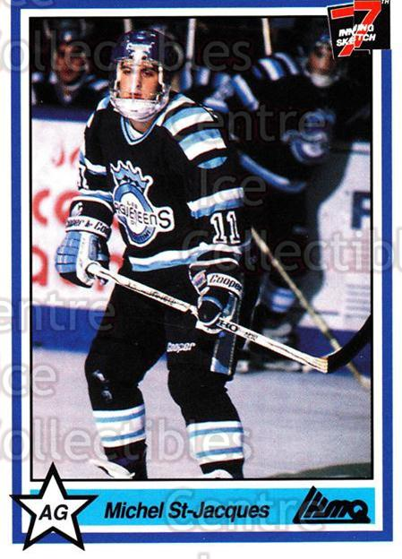 1990-91 7th Inning Sketch QMJHL #33 Michel St.Jacques<br/>9 In Stock - $1.00 each - <a href=https://centericecollectibles.foxycart.com/cart?name=1990-91%207th%20Inning%20Sketch%20QMJHL%20%2333%20Michel%20St.Jacqu...&price=$1.00&code=140726 class=foxycart> Buy it now! </a>