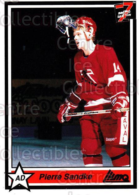 1990-91 7th Inning Sketch QMJHL #58 Pierre Sandke<br/>9 In Stock - $1.00 each - <a href=https://centericecollectibles.foxycart.com/cart?name=1990-91%207th%20Inning%20Sketch%20QMJHL%20%2358%20Pierre%20Sandke...&quantity_max=9&price=$1.00&code=140753 class=foxycart> Buy it now! </a>