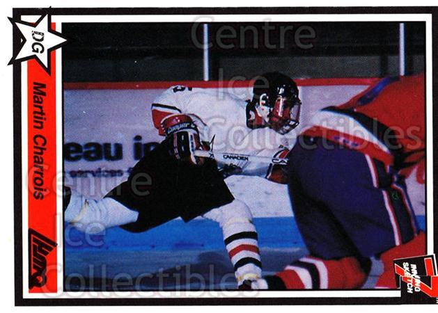 1990-91 7th Inning Sketch QMJHL #9 Martin Charrois<br/>9 In Stock - $1.00 each - <a href=https://centericecollectibles.foxycart.com/cart?name=1990-91%207th%20Inning%20Sketch%20QMJHL%20%239%20Martin%20Charrois...&price=$1.00&code=140787 class=foxycart> Buy it now! </a>