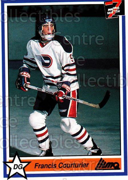 1990-91 7th Inning Sketch QMJHL #95 Francis Coutineir<br/>9 In Stock - $1.00 each - <a href=https://centericecollectibles.foxycart.com/cart?name=1990-91%207th%20Inning%20Sketch%20QMJHL%20%2395%20Francis%20Coutine...&quantity_max=9&price=$1.00&code=140793 class=foxycart> Buy it now! </a>