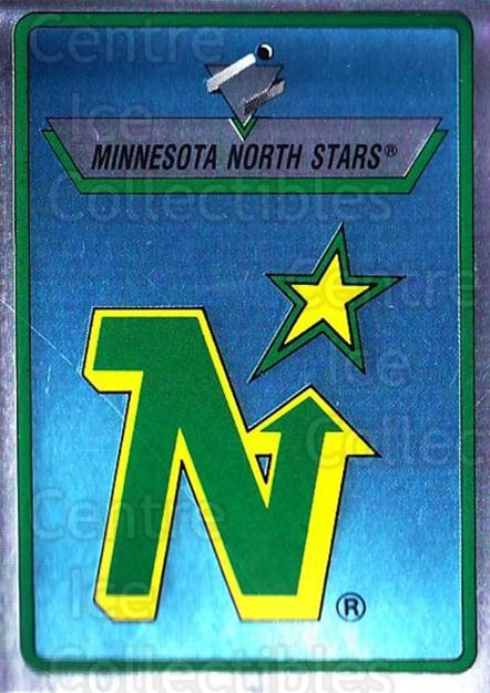 1990-91 Panini Stickers #255 Minnesota North Stars<br/>8 In Stock - $1.00 each - <a href=https://centericecollectibles.foxycart.com/cart?name=1990-91%20Panini%20Stickers%20%23255%20Minnesota%20North...&quantity_max=8&price=$1.00&code=141160 class=foxycart> Buy it now! </a>