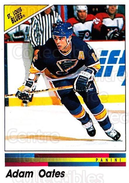 1990-91 Panini Stickers #275 Adam Oates<br/>8 In Stock - $1.00 each - <a href=https://centericecollectibles.foxycart.com/cart?name=1990-91%20Panini%20Stickers%20%23275%20Adam%20Oates...&quantity_max=8&price=$1.00&code=141181 class=foxycart> Buy it now! </a>
