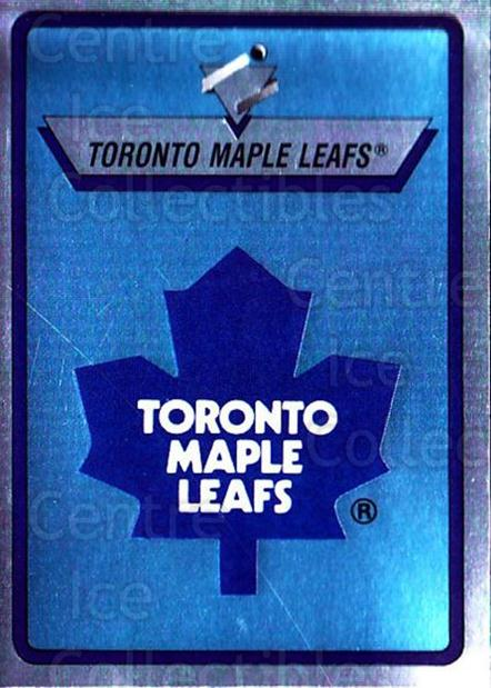 1990-91 Panini Stickers #285 Toronto Maple Leafs<br/>11 In Stock - $1.00 each - <a href=https://centericecollectibles.foxycart.com/cart?name=1990-91%20Panini%20Stickers%20%23285%20Toronto%20Maple%20L...&quantity_max=11&price=$1.00&code=141192 class=foxycart> Buy it now! </a>