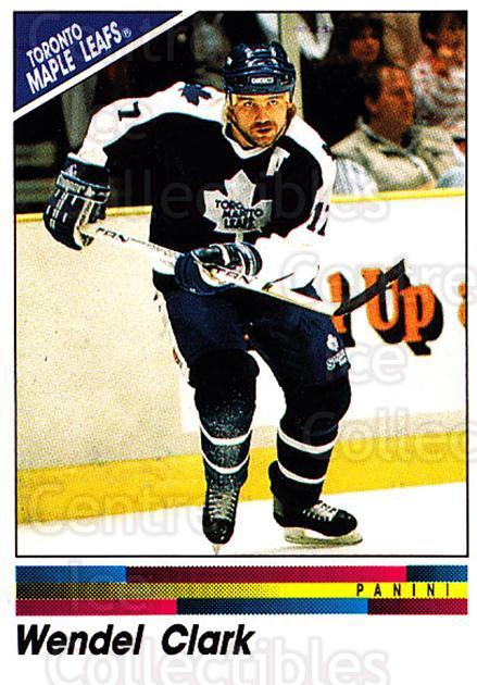 1990-91 Panini Stickers #286 Wendel Clark<br/>3 In Stock - $1.00 each - <a href=https://centericecollectibles.foxycart.com/cart?name=1990-91%20Panini%20Stickers%20%23286%20Wendel%20Clark...&quantity_max=3&price=$1.00&code=141193 class=foxycart> Buy it now! </a>