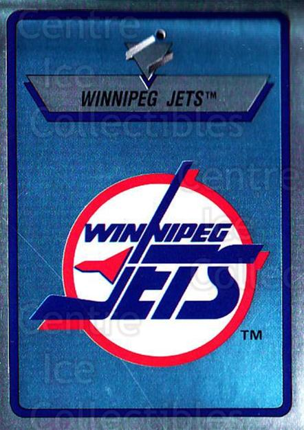 1990-91 Panini Stickers #315 Winnipeg Jets<br/>9 In Stock - $1.00 each - <a href=https://centericecollectibles.foxycart.com/cart?name=1990-91%20Panini%20Stickers%20%23315%20Winnipeg%20Jets...&quantity_max=9&price=$1.00&code=141226 class=foxycart> Buy it now! </a>