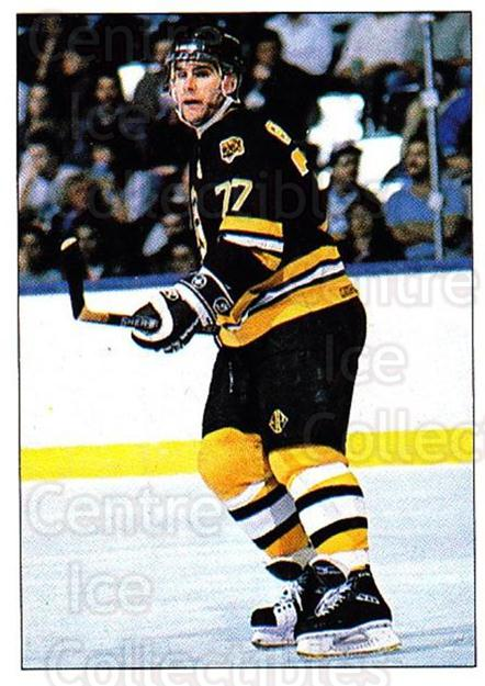 1990-91 Panini Stickers #322 Ray Bourque<br/>5 In Stock - $1.00 each - <a href=https://centericecollectibles.foxycart.com/cart?name=1990-91%20Panini%20Stickers%20%23322%20Ray%20Bourque...&quantity_max=5&price=$1.00&code=141234 class=foxycart> Buy it now! </a>