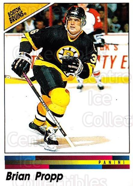 1990-91 Panini Stickers #5 Brian Propp<br/>8 In Stock - $1.00 each - <a href=https://centericecollectibles.foxycart.com/cart?name=1990-91%20Panini%20Stickers%20%235%20Brian%20Propp...&quantity_max=8&price=$1.00&code=141278 class=foxycart> Buy it now! </a>