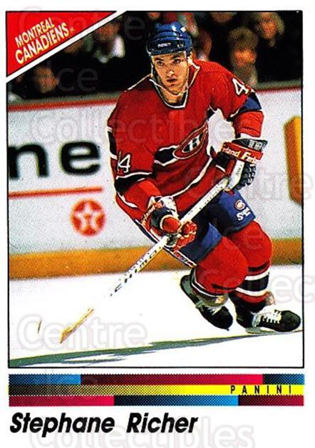 1990-91 Panini Stickers #53 Stephane Richer<br/>11 In Stock - $1.00 each - <a href=https://centericecollectibles.foxycart.com/cart?name=1990-91%20Panini%20Stickers%20%2353%20Stephane%20Richer...&quantity_max=11&price=$1.00&code=141281 class=foxycart> Buy it now! </a>