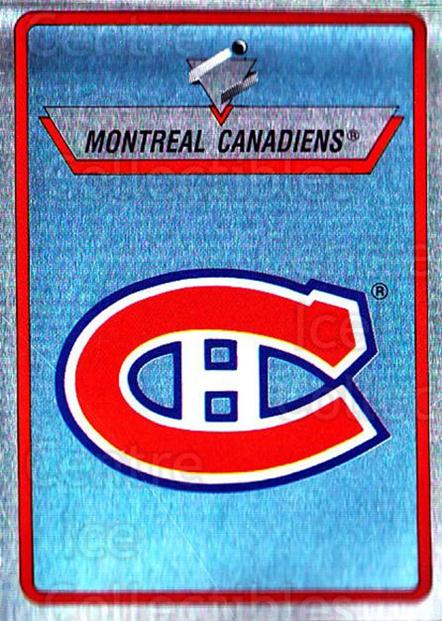 1990-91 Panini Stickers #57 Montreal Canadiens<br/>1 In Stock - $1.00 each - <a href=https://centericecollectibles.foxycart.com/cart?name=1990-91%20Panini%20Stickers%20%2357%20Montreal%20Canadi...&quantity_max=1&price=$1.00&code=141285 class=foxycart> Buy it now! </a>