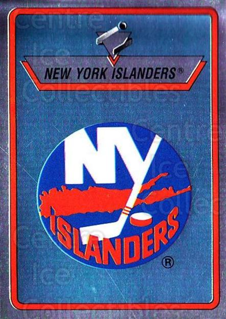1990-91 Panini Stickers #87 New York Islanders<br/>8 In Stock - $1.00 each - <a href=https://centericecollectibles.foxycart.com/cart?name=1990-91%20Panini%20Stickers%20%2387%20New%20York%20Island...&quantity_max=8&price=$1.00&code=141318 class=foxycart> Buy it now! </a>