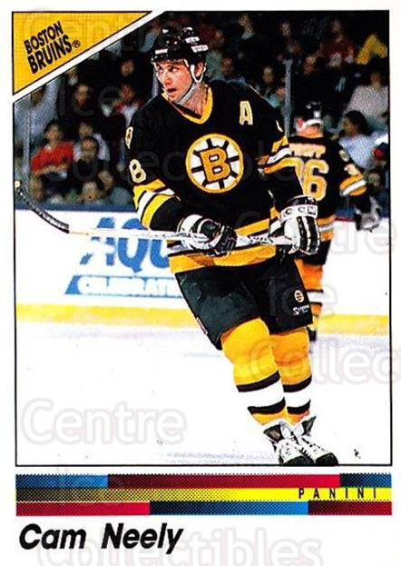 1990-91 Panini Stickers #9 Cam Neely<br/>1 In Stock - $1.00 each - <a href=https://centericecollectibles.foxycart.com/cart?name=1990-91%20Panini%20Stickers%20%239%20Cam%20Neely...&quantity_max=1&price=$1.00&code=141321 class=foxycart> Buy it now! </a>