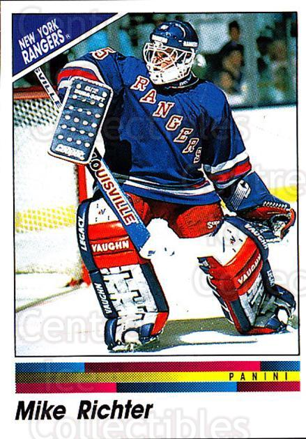 1990-91 Panini Stickers #98 Mike Richter<br/>2 In Stock - $1.00 each - <a href=https://centericecollectibles.foxycart.com/cart?name=1990-91%20Panini%20Stickers%20%2398%20Mike%20Richter...&quantity_max=2&price=$1.00&code=141330 class=foxycart> Buy it now! </a>