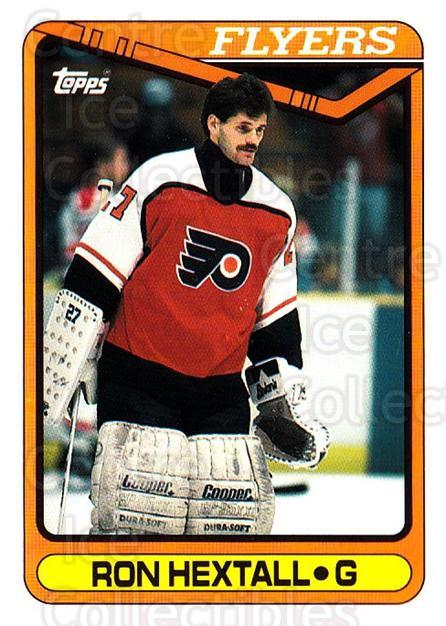 1990-91 Topps Tiffany #243 Ron Hextall<br/>4 In Stock - $2.00 each - <a href=https://centericecollectibles.foxycart.com/cart?name=1990-91%20Topps%20Tiffany%20%23243%20Ron%20Hextall...&quantity_max=4&price=$2.00&code=141547 class=foxycart> Buy it now! </a>