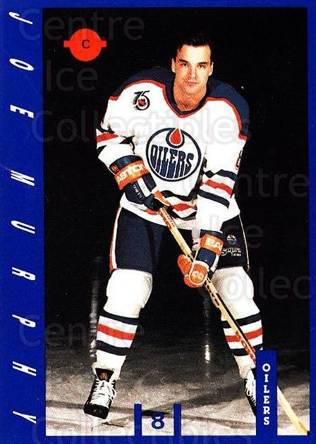 1991-92 Edmonton Oilers IGA #16 Joe Murphy<br/>18 In Stock - $3.00 each - <a href=https://centericecollectibles.foxycart.com/cart?name=1991-92%20Edmonton%20Oilers%20IGA%20%2316%20Joe%20Murphy...&quantity_max=18&price=$3.00&code=14172 class=foxycart> Buy it now! </a>