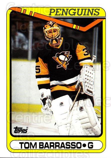 1990-91 Topps Tiffany #65 Tom Barrasso<br/>1 In Stock - $2.00 each - <a href=https://centericecollectibles.foxycart.com/cart?name=1990-91%20Topps%20Tiffany%20%2365%20Tom%20Barrasso...&price=$2.00&code=141732 class=foxycart> Buy it now! </a>