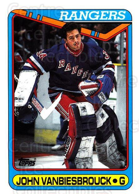 1990-91 Topps Tiffany #75 John Vanbiesbrouck<br/>2 In Stock - $2.00 each - <a href=https://centericecollectibles.foxycart.com/cart?name=1990-91%20Topps%20Tiffany%20%2375%20John%20Vanbiesbro...&quantity_max=2&price=$2.00&code=141742 class=foxycart> Buy it now! </a>