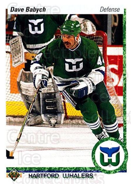 1990-91 Upper Deck #194 Dave Babych<br/>6 In Stock - $1.00 each - <a href=https://centericecollectibles.foxycart.com/cart?name=1990-91%20Upper%20Deck%20%23194%20Dave%20Babych...&quantity_max=6&price=$1.00&code=141790 class=foxycart> Buy it now! </a>