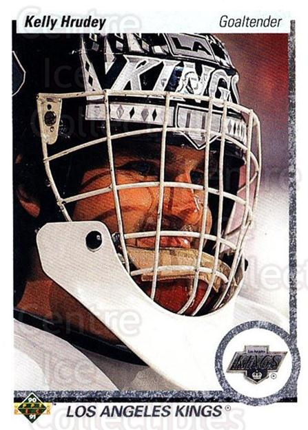 1990-91 Upper Deck #231 Kelly Hrudey<br/>5 In Stock - $1.00 each - <a href=https://centericecollectibles.foxycart.com/cart?name=1990-91%20Upper%20Deck%20%23231%20Kelly%20Hrudey...&quantity_max=5&price=$1.00&code=141803 class=foxycart> Buy it now! </a>