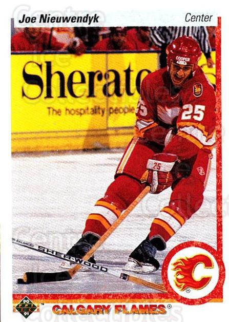 1990-91 Upper Deck #26 Joe Nieuwendyk<br/>5 In Stock - $1.00 each - <a href=https://centericecollectibles.foxycart.com/cart?name=1990-91%20Upper%20Deck%20%2326%20Joe%20Nieuwendyk...&quantity_max=5&price=$1.00&code=141813 class=foxycart> Buy it now! </a>