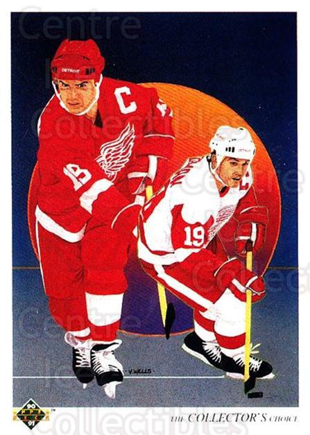 1990-91 Upper Deck #303 Steve Yzerman, Checklist<br/>2 In Stock - $1.00 each - <a href=https://centericecollectibles.foxycart.com/cart?name=1990-91%20Upper%20Deck%20%23303%20Steve%20Yzerman,%20...&price=$1.00&code=141837 class=foxycart> Buy it now! </a>