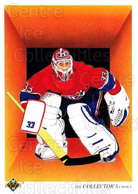1990-91 Upper Deck #317 Patrick Roy, Checklist<br/>5 In Stock - $2.00 each - <a href=https://centericecollectibles.foxycart.com/cart?name=1990-91%20Upper%20Deck%20%23317%20Patrick%20Roy,%20Ch...&quantity_max=5&price=$2.00&code=141852 class=foxycart> Buy it now! </a>
