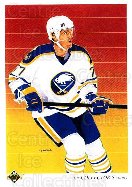 1990-91 Upper Deck #318 Pierre Turgeon, Checklist<br/>6 In Stock - $1.00 each - <a href=https://centericecollectibles.foxycart.com/cart?name=1990-91%20Upper%20Deck%20%23318%20Pierre%20Turgeon,...&quantity_max=6&price=$1.00&code=141853 class=foxycart> Buy it now! </a>