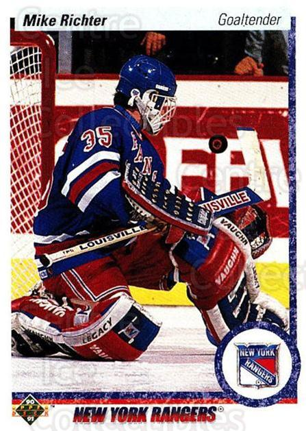 1990-91 Upper Deck #32 Mike Richter<br/>7 In Stock - $1.00 each - <a href=https://centericecollectibles.foxycart.com/cart?name=1990-91%20Upper%20Deck%20%2332%20Mike%20Richter...&quantity_max=7&price=$1.00&code=141855 class=foxycart> Buy it now! </a>