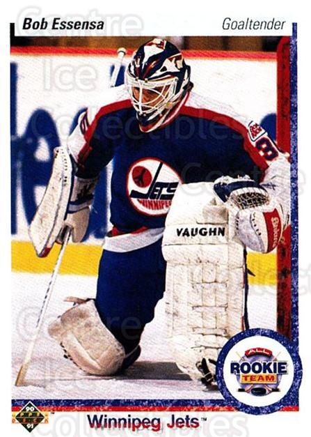 1990-91 Upper Deck #337 Bob Essensa<br/>5 In Stock - $1.00 each - <a href=https://centericecollectibles.foxycart.com/cart?name=1990-91%20Upper%20Deck%20%23337%20Bob%20Essensa...&quantity_max=5&price=$1.00&code=141872 class=foxycart> Buy it now! </a>