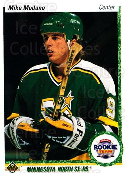 1990-91 Upper Deck #346 Mike Modano<br/>5 In Stock - $1.00 each - <a href=https://centericecollectibles.foxycart.com/cart?name=1990-91%20Upper%20Deck%20%23346%20Mike%20Modano...&quantity_max=5&price=$1.00&code=141881 class=foxycart> Buy it now! </a>