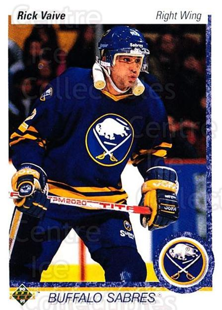 1990-91 Upper Deck #376 Rick Vaive<br/>5 In Stock - $1.00 each - <a href=https://centericecollectibles.foxycart.com/cart?name=1990-91%20Upper%20Deck%20%23376%20Rick%20Vaive...&quantity_max=5&price=$1.00&code=141912 class=foxycart> Buy it now! </a>