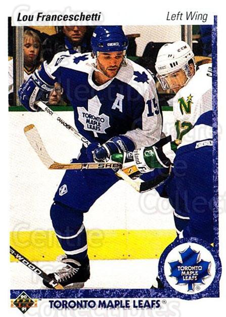 1990-91 Upper Deck #396 Lou Franceschetti<br/>5 In Stock - $1.00 each - <a href=https://centericecollectibles.foxycart.com/cart?name=1990-91%20Upper%20Deck%20%23396%20Lou%20Franceschet...&quantity_max=5&price=$1.00&code=141933 class=foxycart> Buy it now! </a>