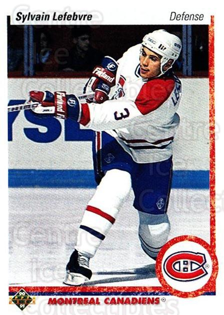 1990-91 Upper Deck #421 Sylvain Lefebvre<br/>25 In Stock - $1.00 each - <a href=https://centericecollectibles.foxycart.com/cart?name=1990-91%20Upper%20Deck%20%23421%20Sylvain%20Lefebvr...&quantity_max=25&price=$1.00&code=141962 class=foxycart> Buy it now! </a>