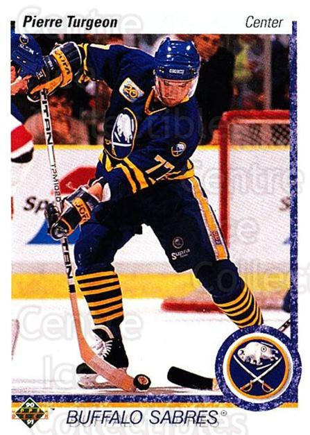 1990-91 Upper Deck #43 Pierre Turgeon<br/>5 In Stock - $1.00 each - <a href=https://centericecollectibles.foxycart.com/cart?name=1990-91%20Upper%20Deck%20%2343%20Pierre%20Turgeon...&quantity_max=5&price=$1.00&code=141971 class=foxycart> Buy it now! </a>