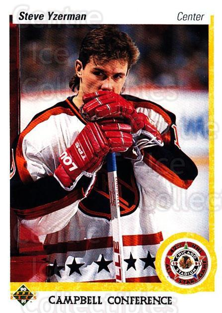 1990-91 Upper Deck #477 Steve Yzerman<br/>23 In Stock - $1.00 each - <a href=https://centericecollectibles.foxycart.com/cart?name=1990-91%20Upper%20Deck%20%23477%20Steve%20Yzerman...&price=$1.00&code=142022 class=foxycart> Buy it now! </a>
