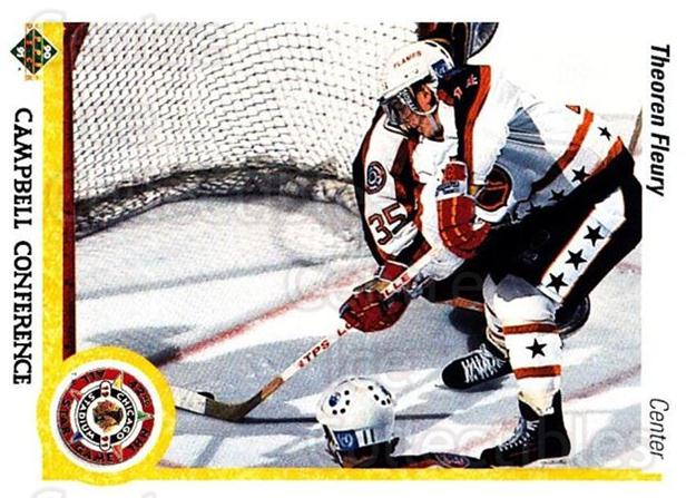 1990-91 Upper Deck #478 Theo Fleury<br/>26 In Stock - $1.00 each - <a href=https://centericecollectibles.foxycart.com/cart?name=1990-91%20Upper%20Deck%20%23478%20Theo%20Fleury...&quantity_max=26&price=$1.00&code=142023 class=foxycart> Buy it now! </a>