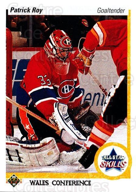 1990-91 Upper Deck #496 Patrick Roy<br/>25 In Stock - $2.00 each - <a href=https://centericecollectibles.foxycart.com/cart?name=1990-91%20Upper%20Deck%20%23496%20Patrick%20Roy...&quantity_max=25&price=$2.00&code=142043 class=foxycart> Buy it now! </a>